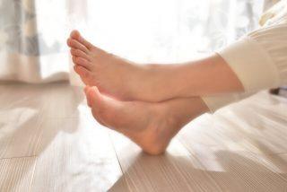 五本指靴下の履き方のイメージ