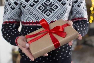 暖かい靴下のプレゼントのイメージ